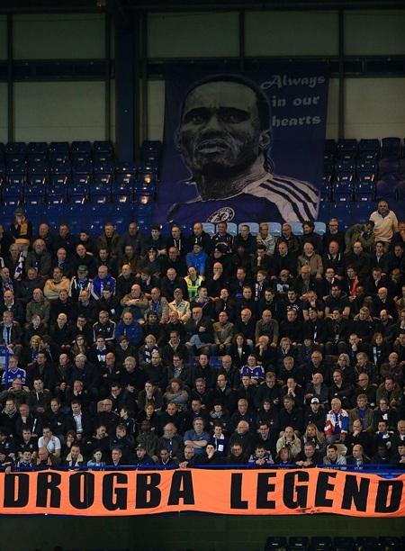 Với người hâm mộ Chelsea, Drogba là một huyền thoại