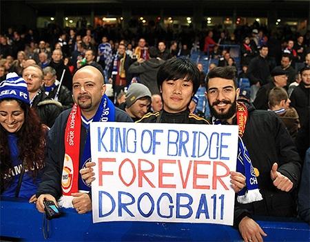 Drobga 11 mãi mãi là Vua của Stamford Bridge