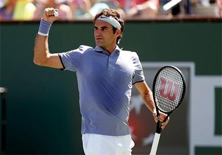 Chiến thắng dễ dàng cho Federer