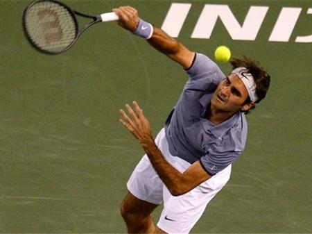 Federer đã giành quyền vào bán kết