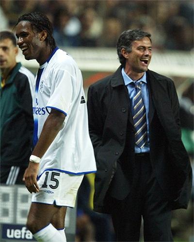 Những năm tháng kề vai sát cánh giữa Drogba và Mourinho