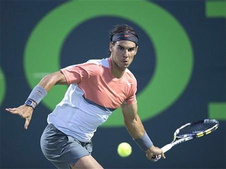 Nadal đã lần thứ 6 lọt vào bán kết tại Miami