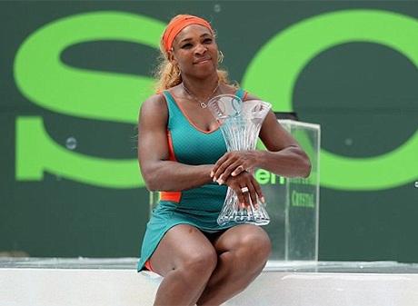 Chức vô địch thứ 7 của Serena ở Miami
