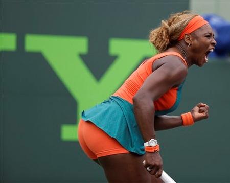 Ở tuổi 32, phong độ thi đấu của Serena vẫn rất ổn định