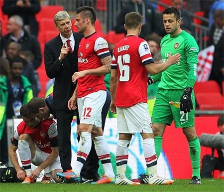 Wenger đang làm kiêu trước Arsenal