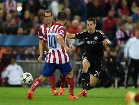 Cơ hội đang chia đều cho cả Chelsea và Atletico