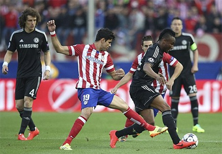 HLV trưởng tuyển Tây Ban Nha Del Bosque đến xem trận bán kết Champions League
