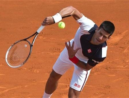 Chiến thắng chóng vánh của Djokovic trước Montanes