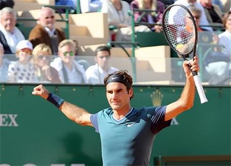 Federer trước cơ hội lần đầu tiên vô địch Monte Carlo