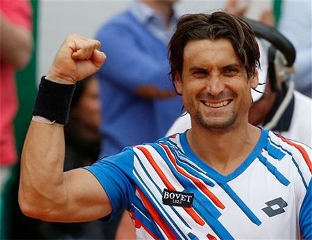 Niềm hạnh phúc sau chiến thắng của Ferrer