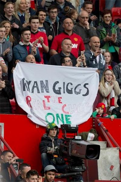 Ryan Giggs mới thực sự là người được lựa chọn
