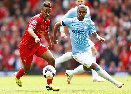 Liverpool hưng phấn sau bàn thắng mở tỉ số và liên tục dồn ép Man City