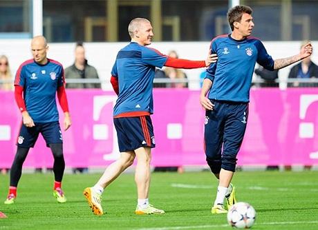 Bayern Munich thảnh thơi trước trận đấu lớn