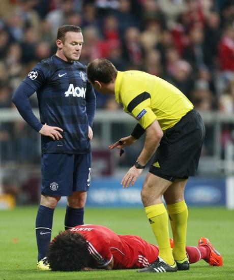 Rooney có trận đấu vô cùng đáng thất vọng