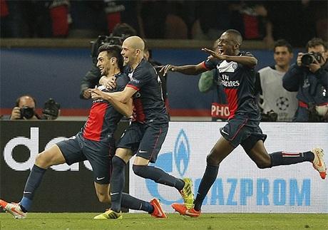 Niềm vui chiến thắng của PSG
