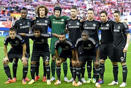 Đội hình ra sân của Chelsea