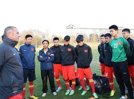 Các cầu thủ U19 Việt Nam