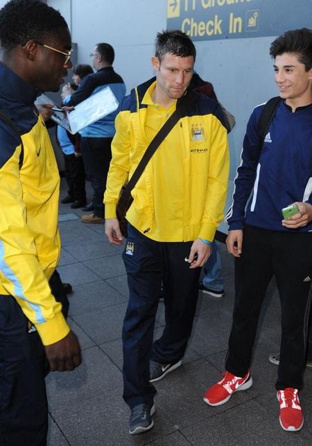 Tiền vệ James Milner, anh cũng có một suất ở tuyển Anh