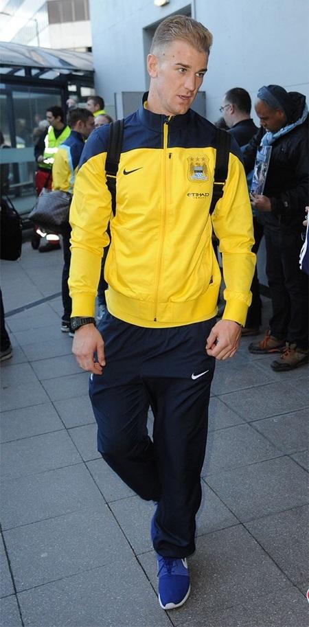 Joe Hart là cầu thủ thứ 2 của Man City được cùng tuyển Anh tham dự World Cup 2014