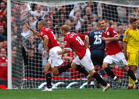 Tháng 10 năm 2006, Liverpool tiếp tục ôm hận bởi Rio Ferdinand