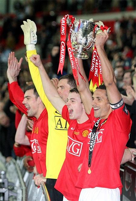 Giành chiến thắng tại League Cup năm 2009