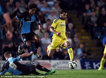 Pha đi bóng của Mo Salah, cầu thủ gia nhập Chelsea từ tháng 1 năm nay
