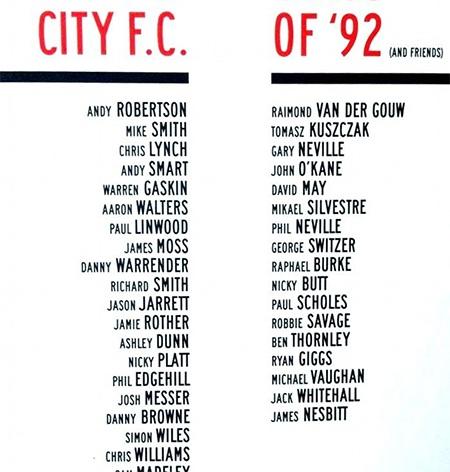 Danh sách các cầu thủ tham dự trận đấu của hai đội