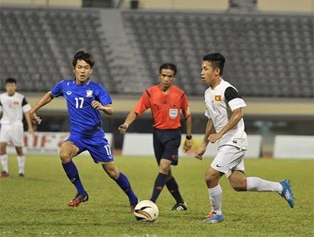U19 Việt Nam thể hiện lối chơi vượt trội trước Thái Lan