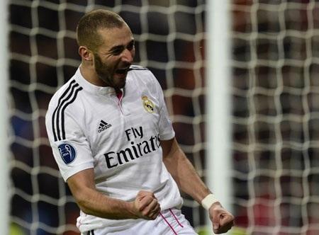 Người hùng Benzema với bàn thắng duy nhất của trận đấu