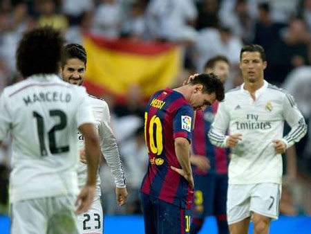 """Messi đang """"đuối"""" hơn so với C.Ronaldo"""