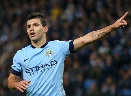Aguero đang tỏa sáng rực rỡ trong màu áo Man City