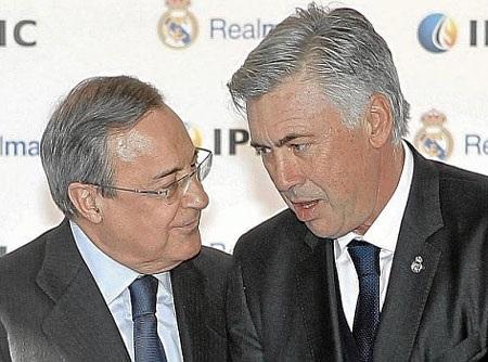 Florentino Perez muốn giữ chân Ancelotti ở lại Bernabeu lâu hơn nữa