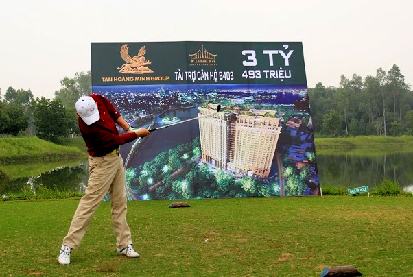 Sôi động giải golf Vô địch CLB năm 2014