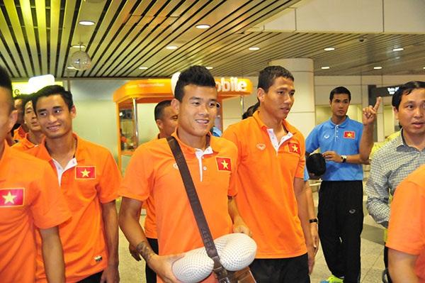 Tinh thần đội tuyển Việt Nam đang lên rất cao