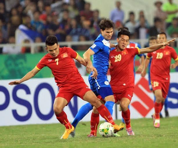 ĐTVN đã chơi quá hay trước Philippines - Ảnh: Gia Hưng