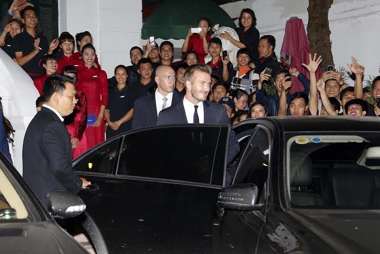 Becks thu hút sự chú ý của rất đông người hâm mộ