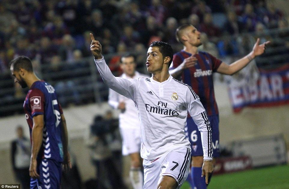 C.Ronaldo đã có được 71 bàn thắng ở Champions League năm nay