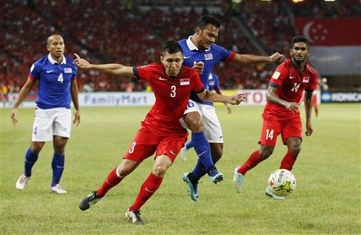 Malaysia đã áp đảo Singapore hoàn toàn về thế trận