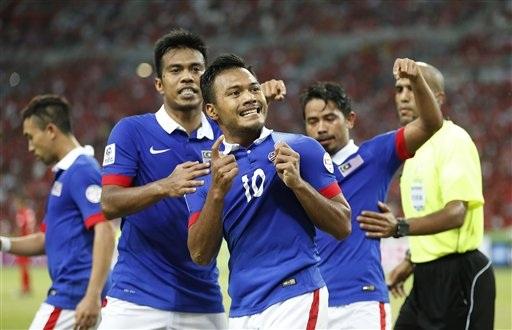 Nhưng Malaysia đã thắng 3-1 nhờ hai bàn ở các phút bù giờ