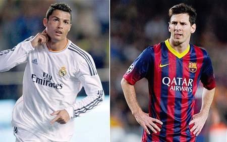 C.Ronaldo cũng là nạn nhân bị Messi phá vỡ kỷ lục