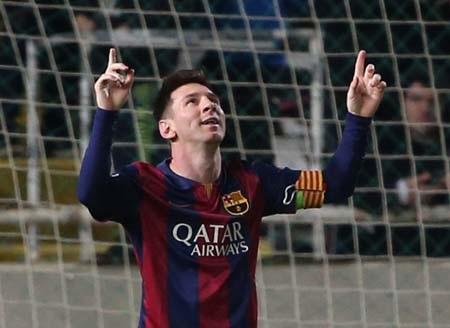 Messi đã phản ứng mạnh mẽ sau khi bị tổn thương trong thời gian qua