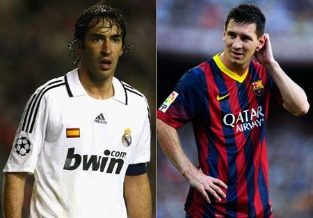 Messi đang độc chiếm cả hai kỷ lục ghi bàn tại La Liga lẫn Champions League