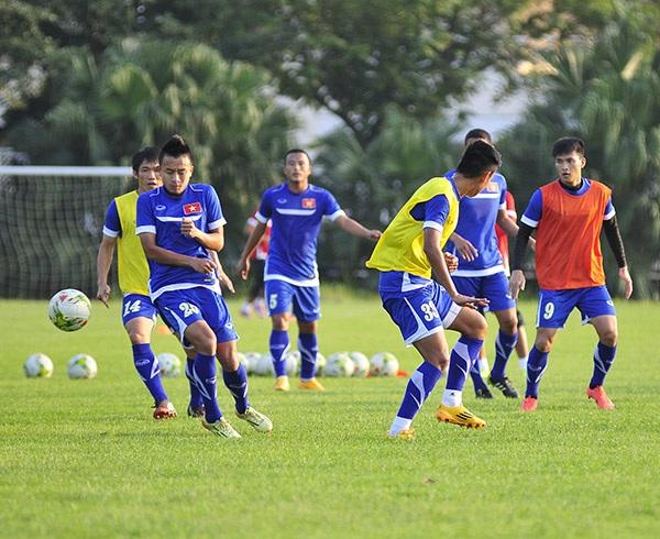 ĐTVN quyết tâm thắng Lào ở trận đấu tiếp theo