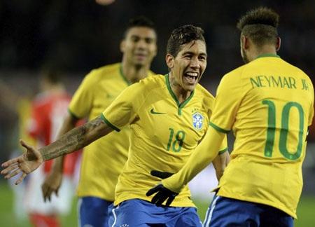 Brazil tiếp tục duy trì thành tích toàn thắng dưới thời Dunga