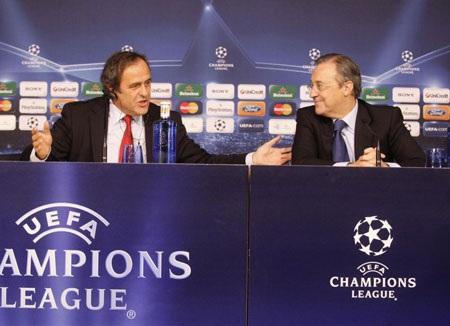 Platini đang làm mất lòng Real Madrid