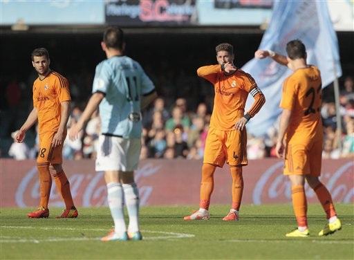 Real Madrid luôn gặp nhiều khó khăn khi đối diện Celta Vigo