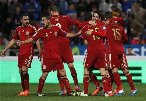 Tây Ban Nha đang sở hữu lứa cầu thủ trẻ đang lên như Isco, Koke