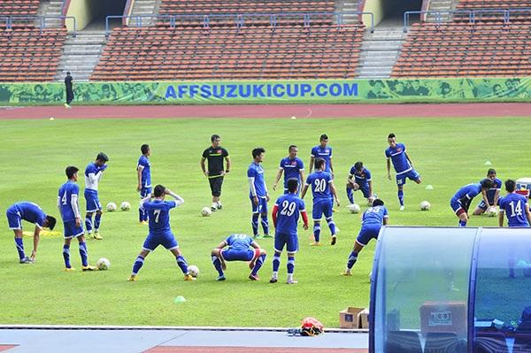 ĐTVN quyết tâm giành chiến thắng trên sân Malaysia
