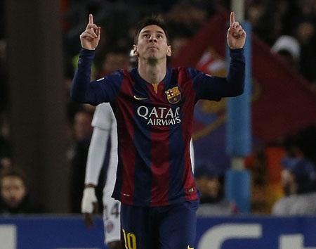Lionel Messi chờ đợi chinh phục kỷ lục ghi bàn ở Champions League