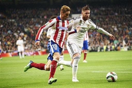 Torres đã chơi chói sáng ở trận đấu với Real Madrid tại Bernabeu